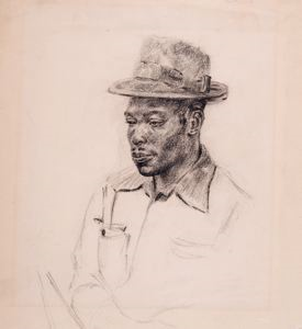 Image of Checker Player at Marian Anderson Playground