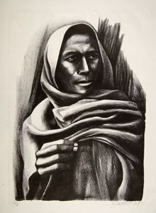 Image of Mujer Con Rebozo (Woman with Shawl)