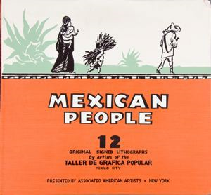 Image of Mexican People portfolio - Cover