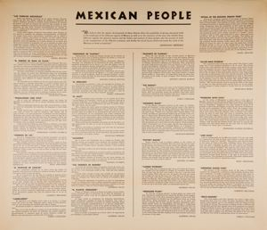 Image of Mexican People portfolio - Artists