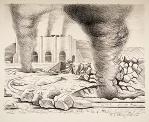 "Image of Lime Kilns, from ""Mexican People"" portfolio"