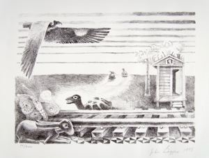 Image of Daufuskie Race, The First Race Between the Turtle and the Hare