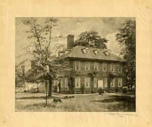Image of Stenton Near Philadelphia: the country residence of James Logan