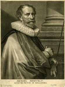 Image of Michiel Jansz. Van Miereveld (1567-1641), Dutch Painter