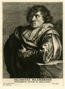 Image of Palamedes Palamedesz (1607-1638), Painter