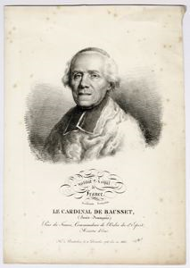 Image of Cardinal Louis-Francois Bausset (French, 1748- 1824)