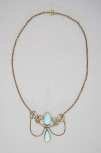 Image of Necklace belonging to Ida Sophonisba Peale