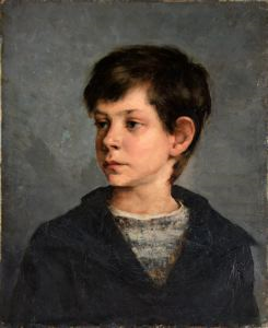 Image of Portrait of a Boy (Portrait of a Small Boy)