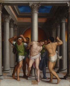 Image of Christ at the Column