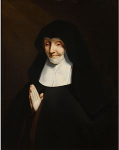 Image of A Nun in Prayer