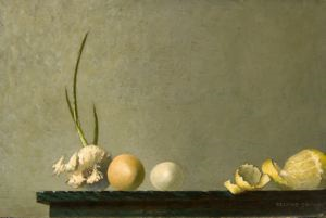 Image of Still Life with Onion and Lemons