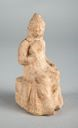 Image of Statuette of a girl in terra-cotta