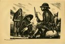 Image of Plate 83: the new Mexican army, a soldier listening to people from the land