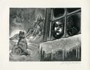 "Image of Illustration from ""A Child's Christmas in Wales"" by Dylan Thomas"