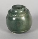 Image of Green Miniature Jadeite Jar