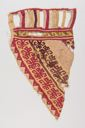 Image of A Chancay Woven Camelid Wool Textile Fragment