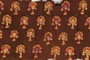 Image of A Good Lambayeque Woven Camelid Wool Textile Panel,  embroidered with crescent headdressed figures