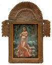 Image of The Eucharistic Man of Sorrows (El Varon Eucharistico de Delores), Retablo