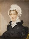 Image of Miniature Portrait of Sarah H. Melster, 29th year, Wilmington, Delaware